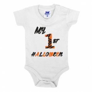 Baby bodysuit My 1st halloween - PrintSalon