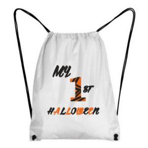 Backpack-bag My 1st halloween - PrintSalon