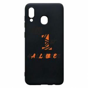 Phone case for Samsung A20 My 1st halloween - PrintSalon
