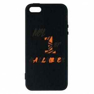 Phone case for iPhone 5/5S/SE My 1st halloween - PrintSalon