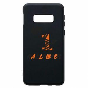 Phone case for Samsung S10e My 1st halloween - PrintSalon
