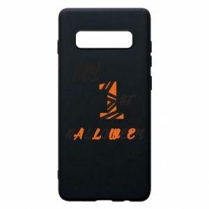 Phone case for Samsung S10+ My 1st halloween - PrintSalon