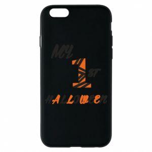 Phone case for iPhone 6/6S My 1st halloween - PrintSalon