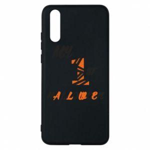 Phone case for Huawei P20 My 1st halloween - PrintSalon