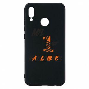Phone case for Huawei P20 Lite My 1st halloween - PrintSalon