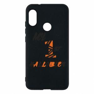 Phone case for Mi A2 Lite My 1st halloween - PrintSalon