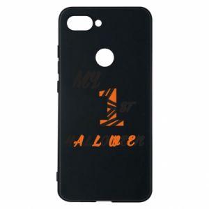 Phone case for Xiaomi Mi8 Lite My 1st halloween - PrintSalon