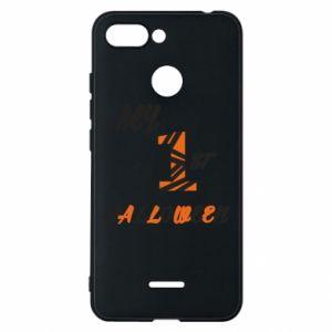 Phone case for Xiaomi Redmi 6 My 1st halloween - PrintSalon