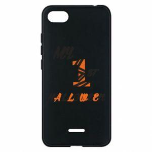 Phone case for Xiaomi Redmi 6A My 1st halloween - PrintSalon