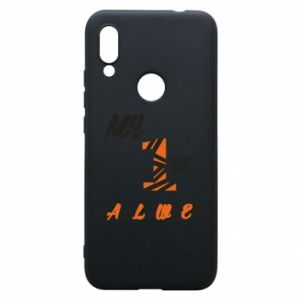 Phone case for Xiaomi Redmi 7 My 1st halloween - PrintSalon