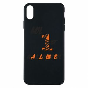 Phone case for iPhone Xs Max My 1st halloween