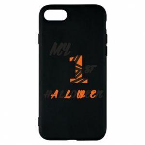 Phone case for iPhone 7 My 1st halloween - PrintSalon
