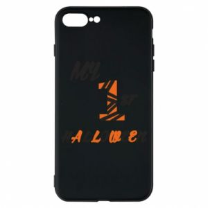 Phone case for iPhone 7 Plus My 1st halloween - PrintSalon
