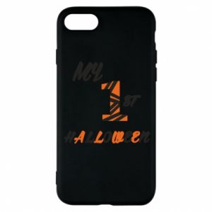 Phone case for iPhone 8 My 1st halloween - PrintSalon