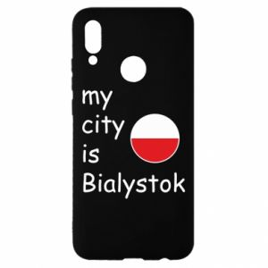 Huawei P Smart 2019 Case My city is Bialystok