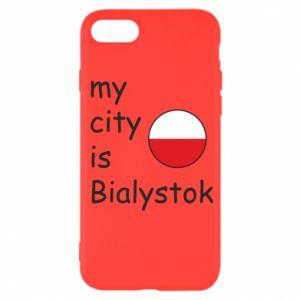 iPhone SE 2020 Case My city is Bialystok