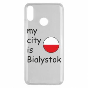 Huawei Y9 2019 Case My city is Bialystok