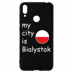 Huawei Y7 2019 Case My city is Bialystok