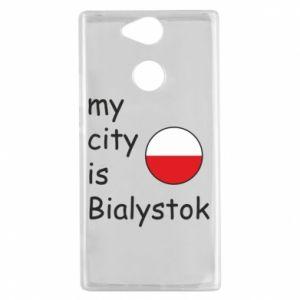 Sony Xperia XA2 Case My city is Bialystok