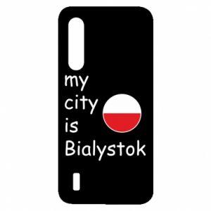 Xiaomi Mi9 Lite Case My city is Bialystok
