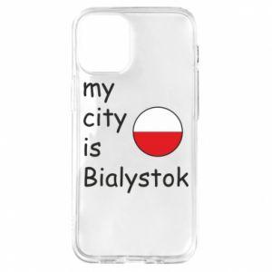 iPhone 12 Mini Case My city is Bialystok