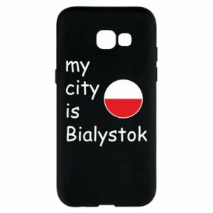 Phone case for Samsung A5 2017 My city is Bialystok