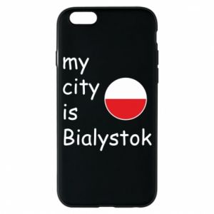Phone case for iPhone 6/6S My city is Bialystok