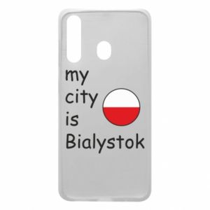 Phone case for Samsung A60 My city is Bialystok