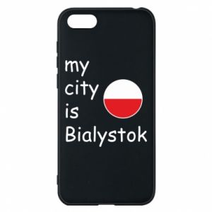 Phone case for Huawei Y5 2018 My city is Bialystok