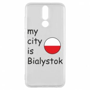 Phone case for Huawei Mate 10 Lite My city is Bialystok