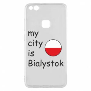 Phone case for Huawei P10 Lite My city is Bialystok