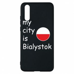 Phone case for Huawei P20 My city is Bialystok