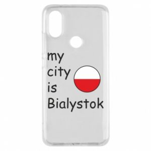 Phone case for Xiaomi Mi A2 My city is Bialystok