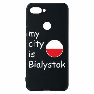 Phone case for Xiaomi Mi8 Lite My city is Bialystok