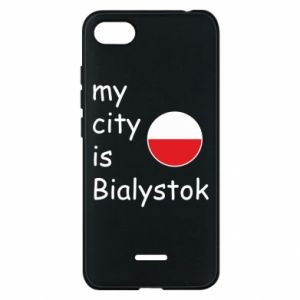 Phone case for Xiaomi Redmi 6A My city is Bialystok