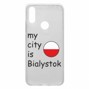 Phone case for Xiaomi Redmi 7 My city is Bialystok