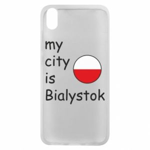 Phone case for Xiaomi Redmi 7A My city is Bialystok