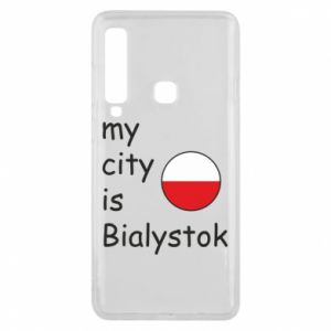 Phone case for Samsung A9 2018 My city is Bialystok