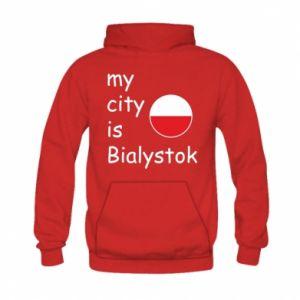 Kid's hoodie My city is Bialystok