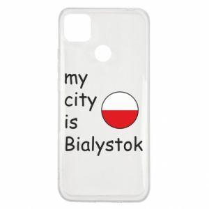 Xiaomi Redmi 9c Case My city is Bialystok