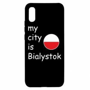 Xiaomi Redmi 9a Case My city is Bialystok