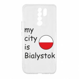 Xiaomi Redmi 9 Case My city is Bialystok