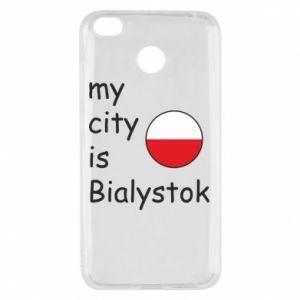 Xiaomi Redmi 4X Case My city is Bialystok