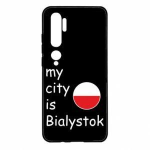 Xiaomi Mi Note 10 Case My city is Bialystok