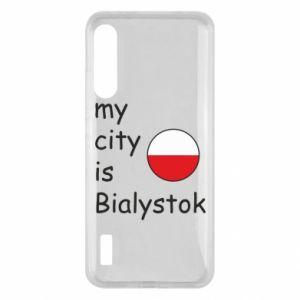 Xiaomi Mi A3 Case My city is Bialystok