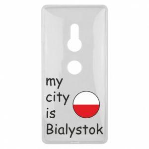 Sony Xperia XZ2 Case My city is Bialystok