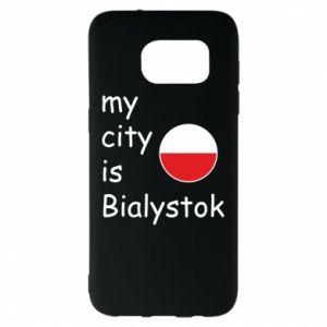 Samsung S7 EDGE Case My city is Bialystok