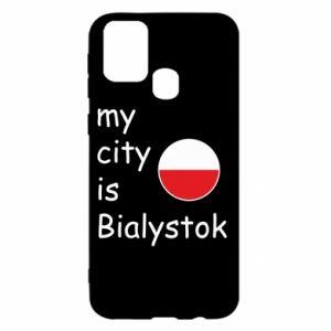 Samsung M31 Case My city is Bialystok
