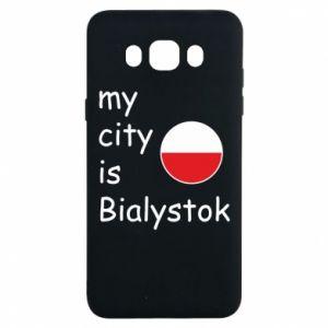 Samsung J7 2016 Case My city is Bialystok