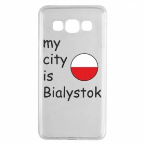 Samsung A3 2015 Case My city is Bialystok